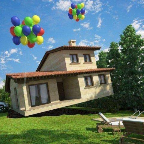 世界上最奇葩的房子造型,網友:看的我尷尬癥都犯了