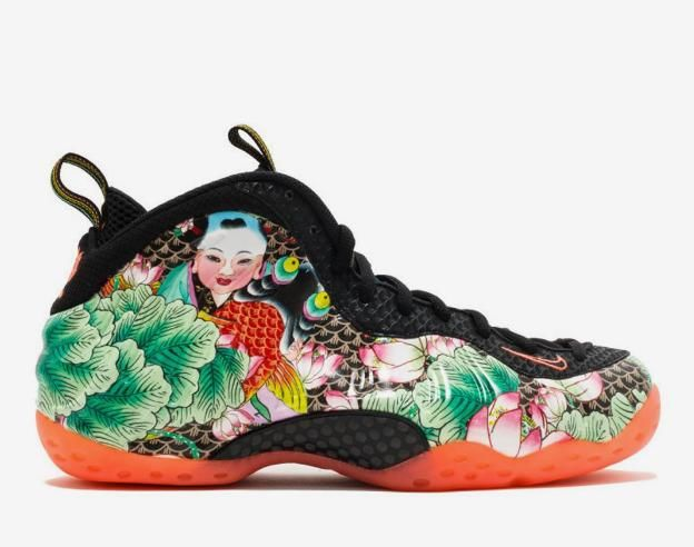 nike天津喷发泡(参考价:12999元) 鞋面此番以全新的天津杨柳青年画