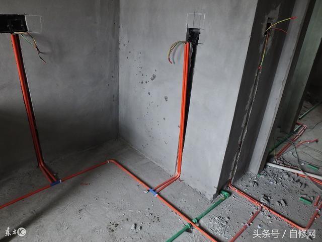 装修的朋友注意了:水电路这么安装才稳妥!