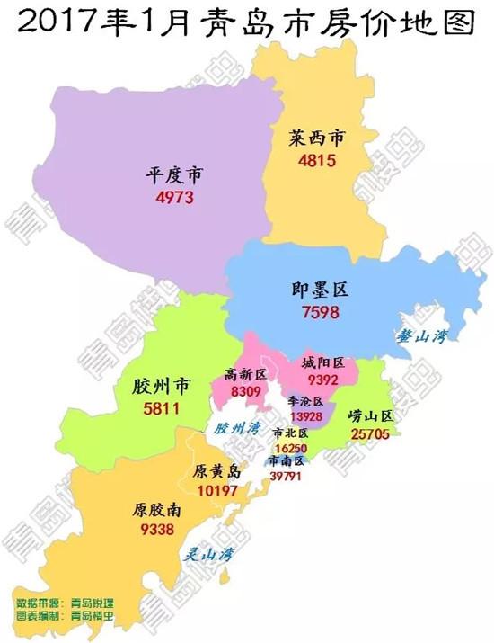 青岛李沧浪地图