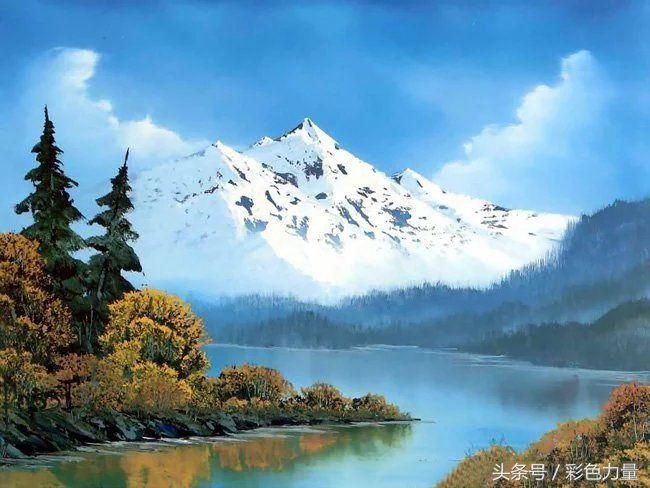 这样高清明亮的风景谁不爱?唯美油画!