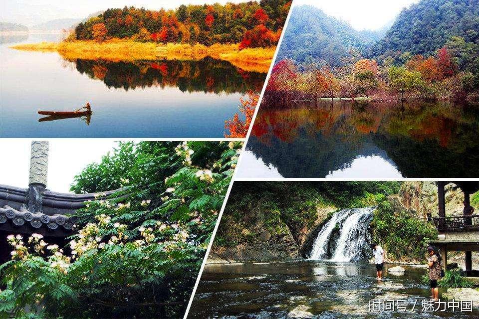 汤江岩:是浣江五泄国家重点风景名胜区主要景点之一,在诸暨市西南同山