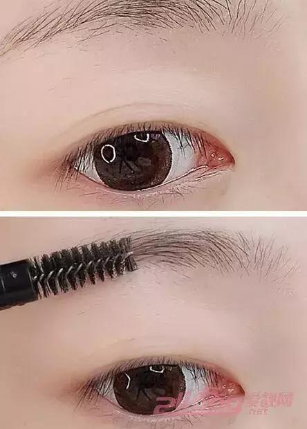 超简单的画眉方法,三个步骤就可以画出美美的眉妆!