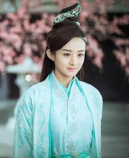 赵丽颖,在电视剧《青云志》中,饰演碧瑶一角.图片