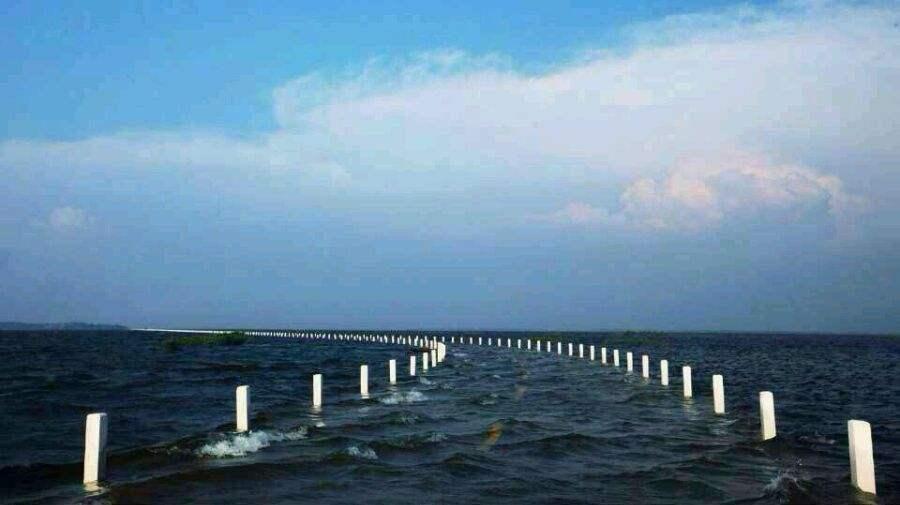 鄱阳湖水上公路,被誉为现实版千与千寻,太梦幻