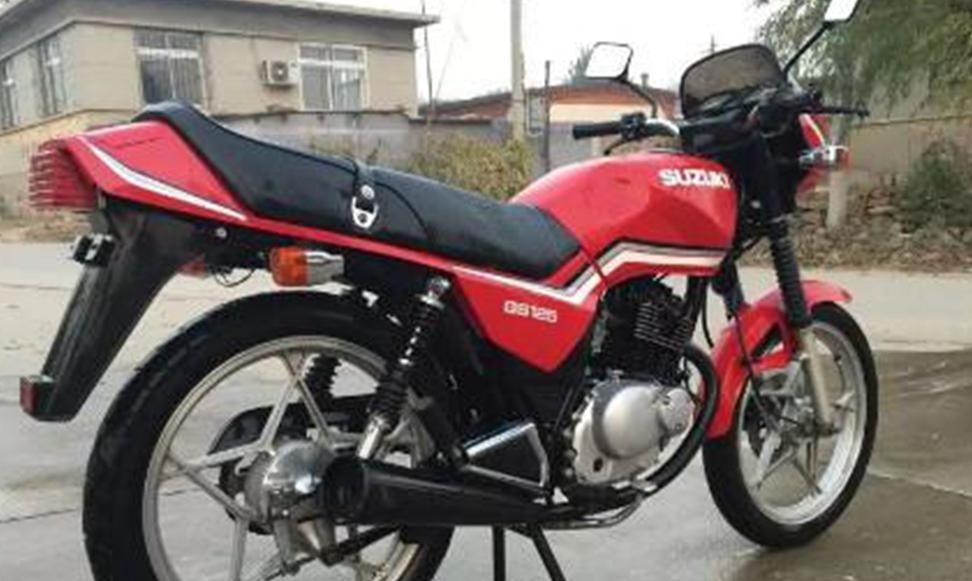 """铃木gs125,铃木的经典款车型,被广大摩托车友称作""""铃木王"""",90年代的"""