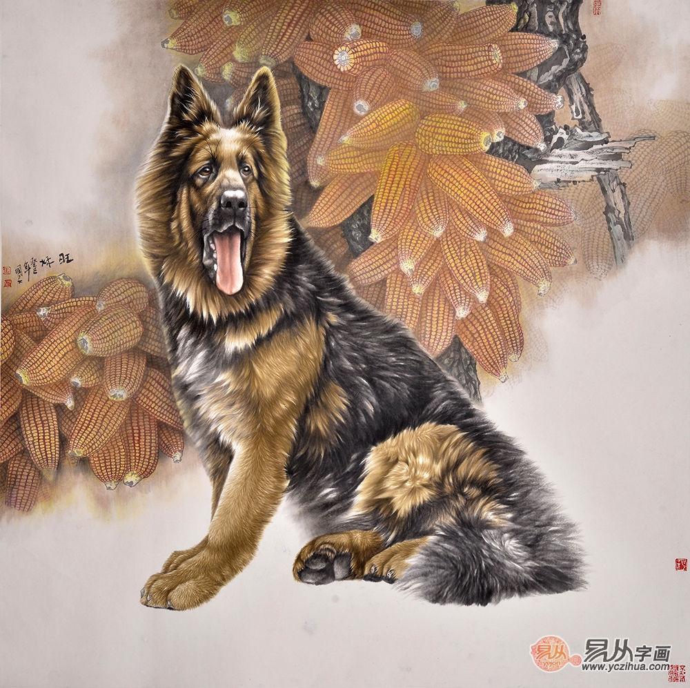 最美家居挂画:国画动物画的独特魅力