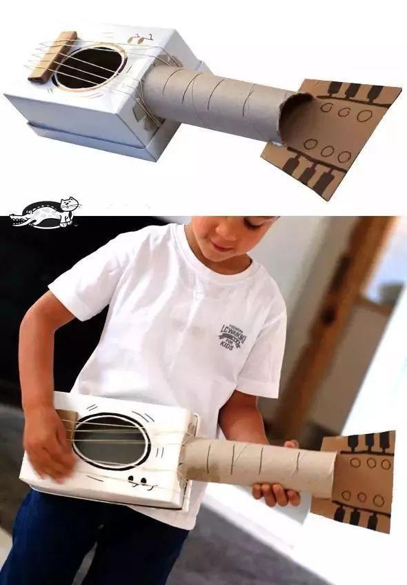 创意手工幼儿园17种乐器diy手工制作及新鲜玩法