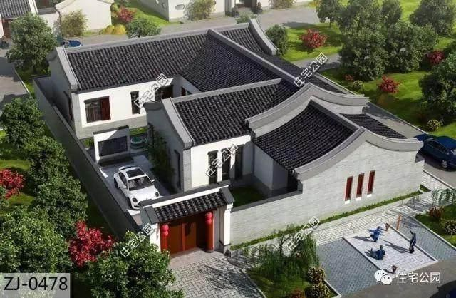 这是自建房就应选中式?5套大合院,别墅属于价格重庆蓝湖郡农村图片
