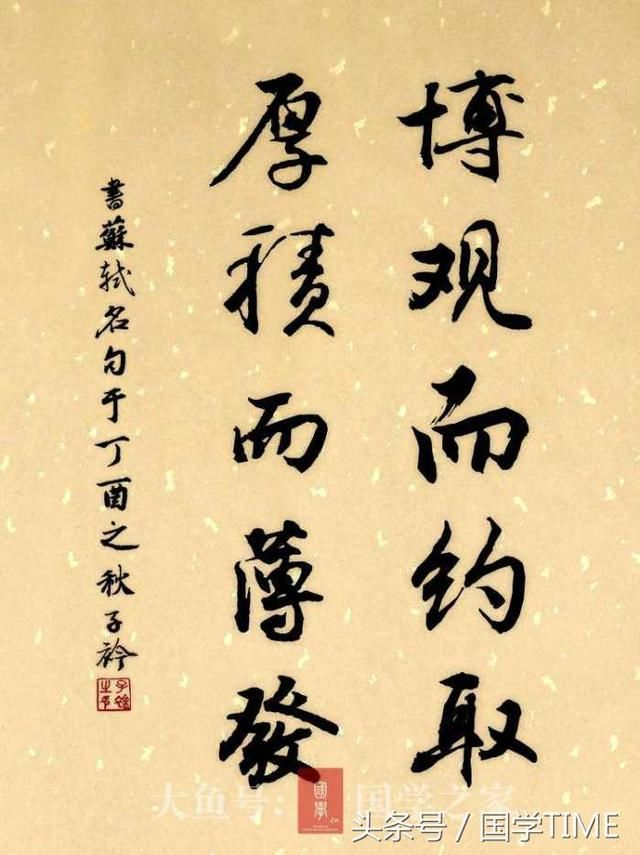 ――苏轼《稼说送张琥》