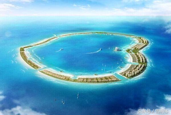南沙美济岛,除打造最南端热带城市,更是未来度假中心和潜水胜地