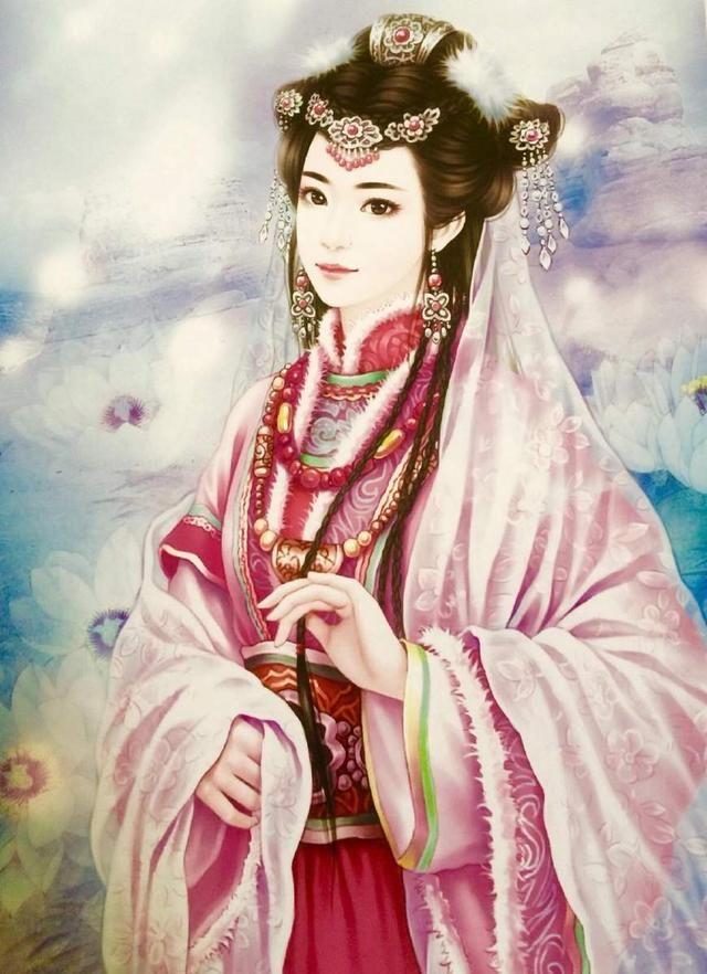 处女座的手绘古风让人不禁联想到出尘脱俗的隐士高人,犹如仙女般一样