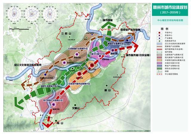 赣州市城市总体规划:构筑