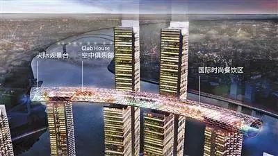 """重庆新地标""""水晶连廊""""正式起吊,未来的朝天门长这样"""