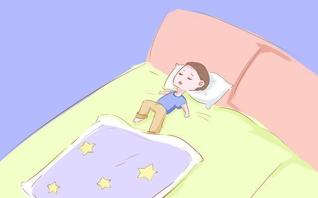 幼儿整理被子卡通图片