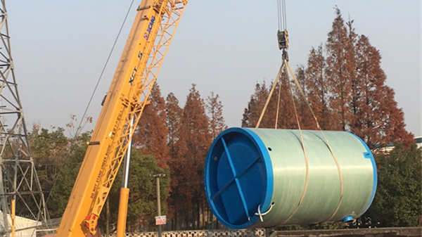 专注污水集中治理,上海凯太一体化预制泵站大显身手