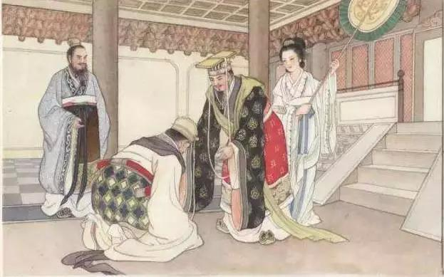 齐桓公称霸中原靠用人 对管仲进行