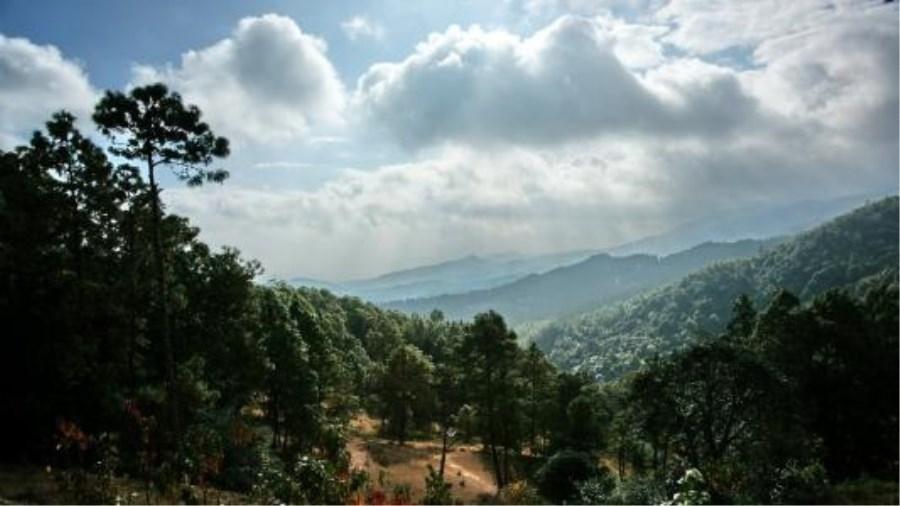 紫溪山:位于云南楚雄市西南,风景区总面积1.