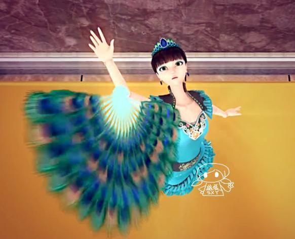 孔雀使用叶罗丽魔法变过最好看的四件衣服,王默和思思图片