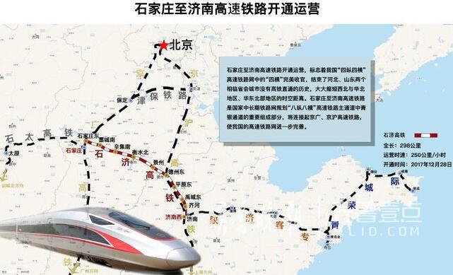 石济高铁今日开通运营,济南到石家庄仅需俩小时!