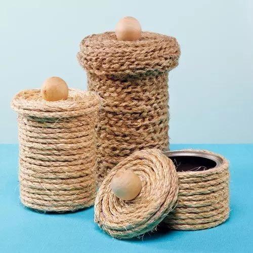 针线缝花瓶简单图案