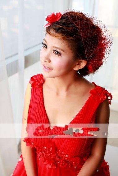 12款中国新娘旗袍发型,新娘复古优雅盘发发型!