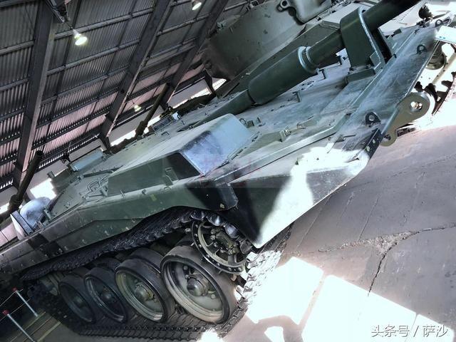 世界唯一的防御性坦克就是它:瑞典strv103主战坦克