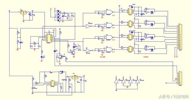 下面是dc-dc升压驱动电路图和pcb截图: 4.保护板