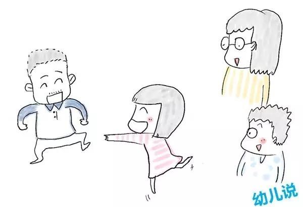 妈妈和宝宝上学简笔画