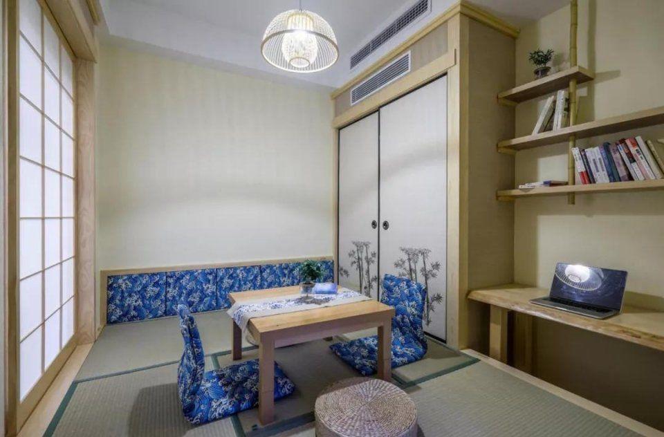 武汉小户型旧房改造装修,榻榻米地台依然是小卧室好选择