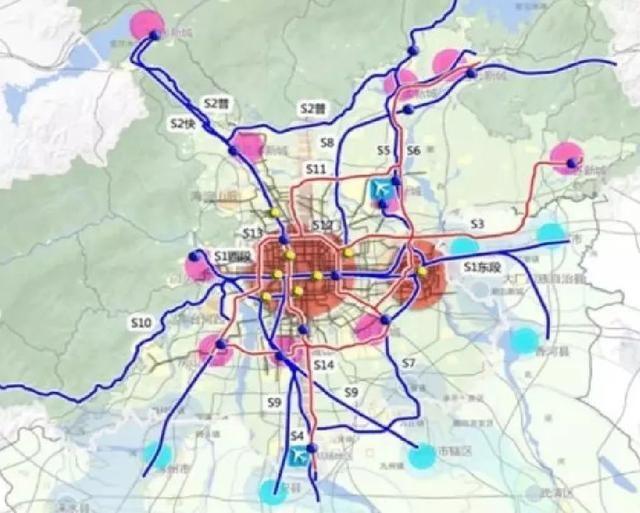 猛料!通州多至8條軌道正在研究中!經過這些地方!有沒有你家?圖片