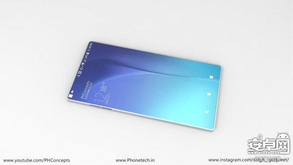 索尼xperia 10概念手机:超薄金属机身