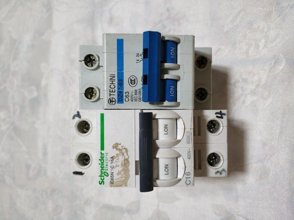 空气开关和漏电保护器:1p,2p,3p,1p n怎么接线?左零右