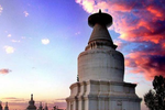 白塔寺:年代最早规模最大的喇嘛塔