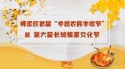 怀柔首届丰收节暨板栗文化节在水长城举办