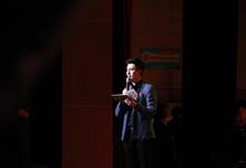 北京合唱比赛主持人现场工作花絮