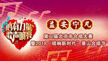 益安宁丸杯第二届北京市合唱大赛