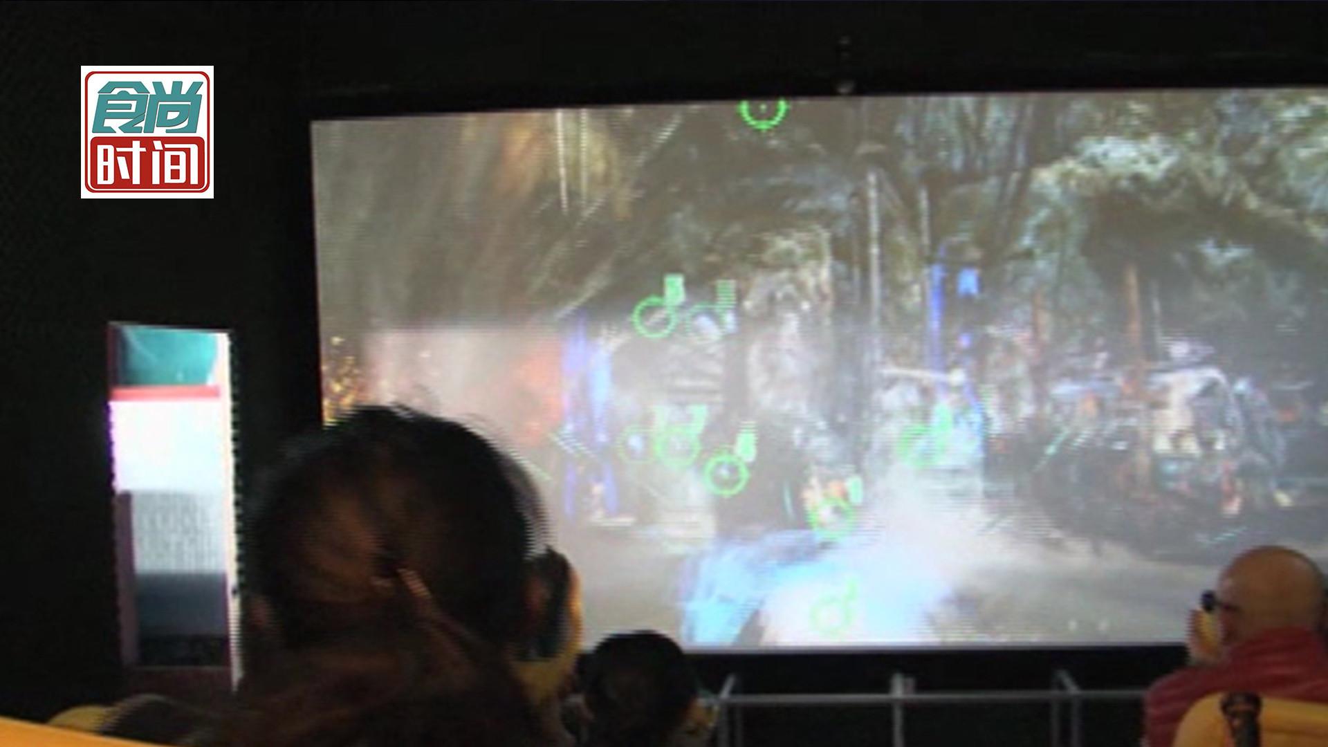 刺激!超魔幻的7D影院 带你领略不一样的感官体验
