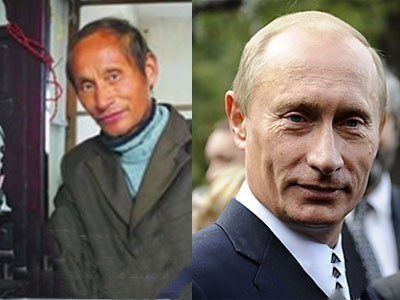 中国农民酷似普京 去俄罗斯参加节目吓坏主持人 - 粉伊香 - 粉伊香
