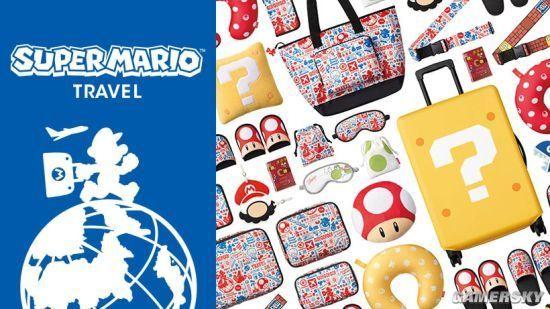 任天堂推超级马里奥夏日旅行周边 色彩缤纷出游必备