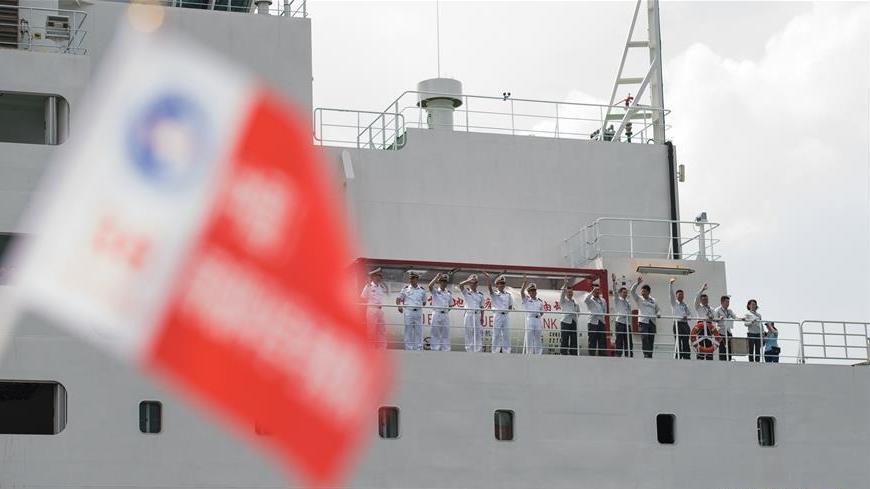 """""""雪龙2""""号抵达深圳 15日将首航出征南极"""