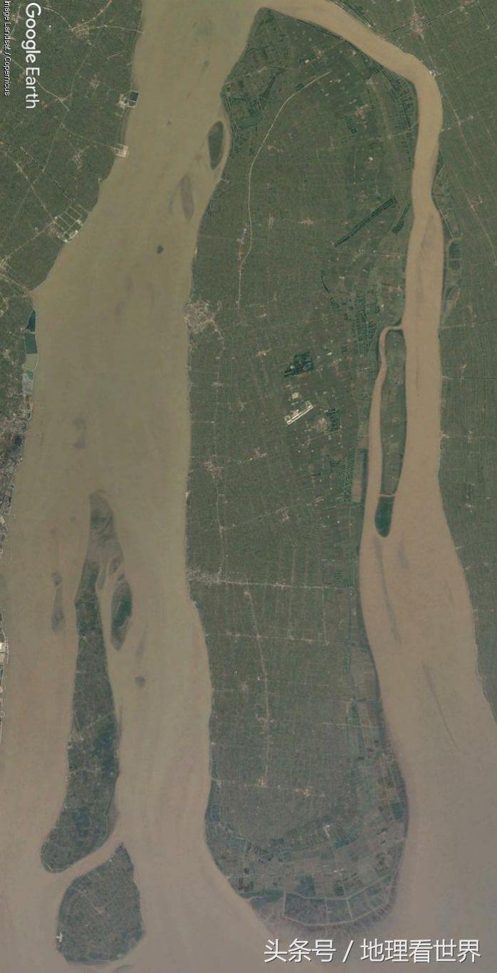 崇明岛面积一年比一年大!慢慢远离上海向江苏