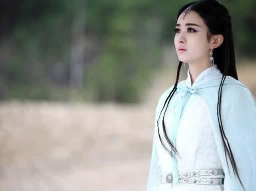 古装剧中最美白衣女子,赵丽颖垫底,杨颖排第三