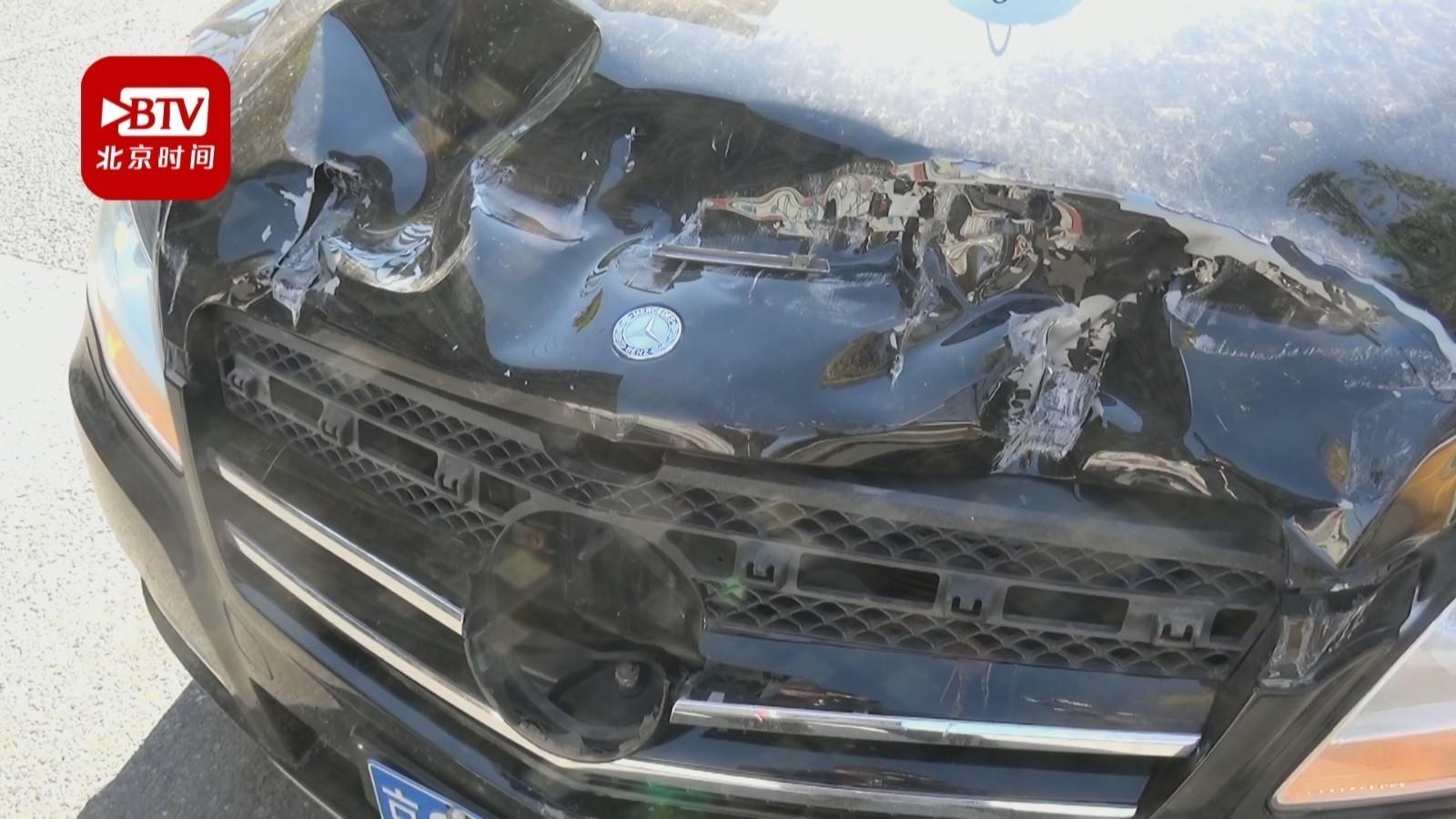 前车避险急刹车 后车跟车过近酿追尾