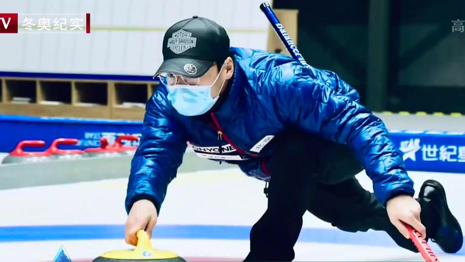 蒲京冰雪专业队:防疫 备战两手抓
