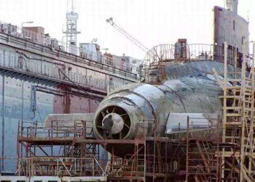 中国新型核潜艇: 两项新科技率先运用 比起美俄仍有不足(图)
