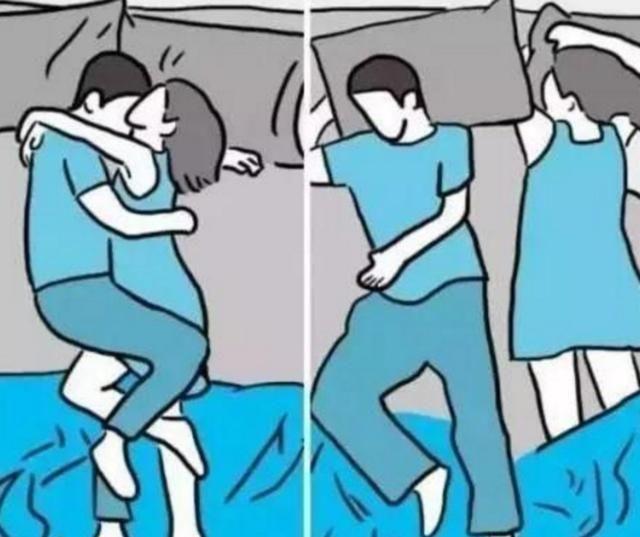 夫妻之间常见的6种睡姿,第5种感情超好,你们是哪一种呢?(ag捕鱼王有漏洞|官方)