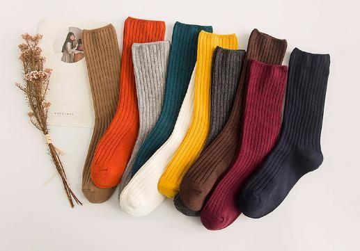 堆堆袜适合什么人 堆堆袜秋冬搭配技巧及图片