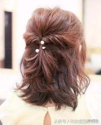 编发教程:长发公主头、短发蜈蚣辫,发型让你五