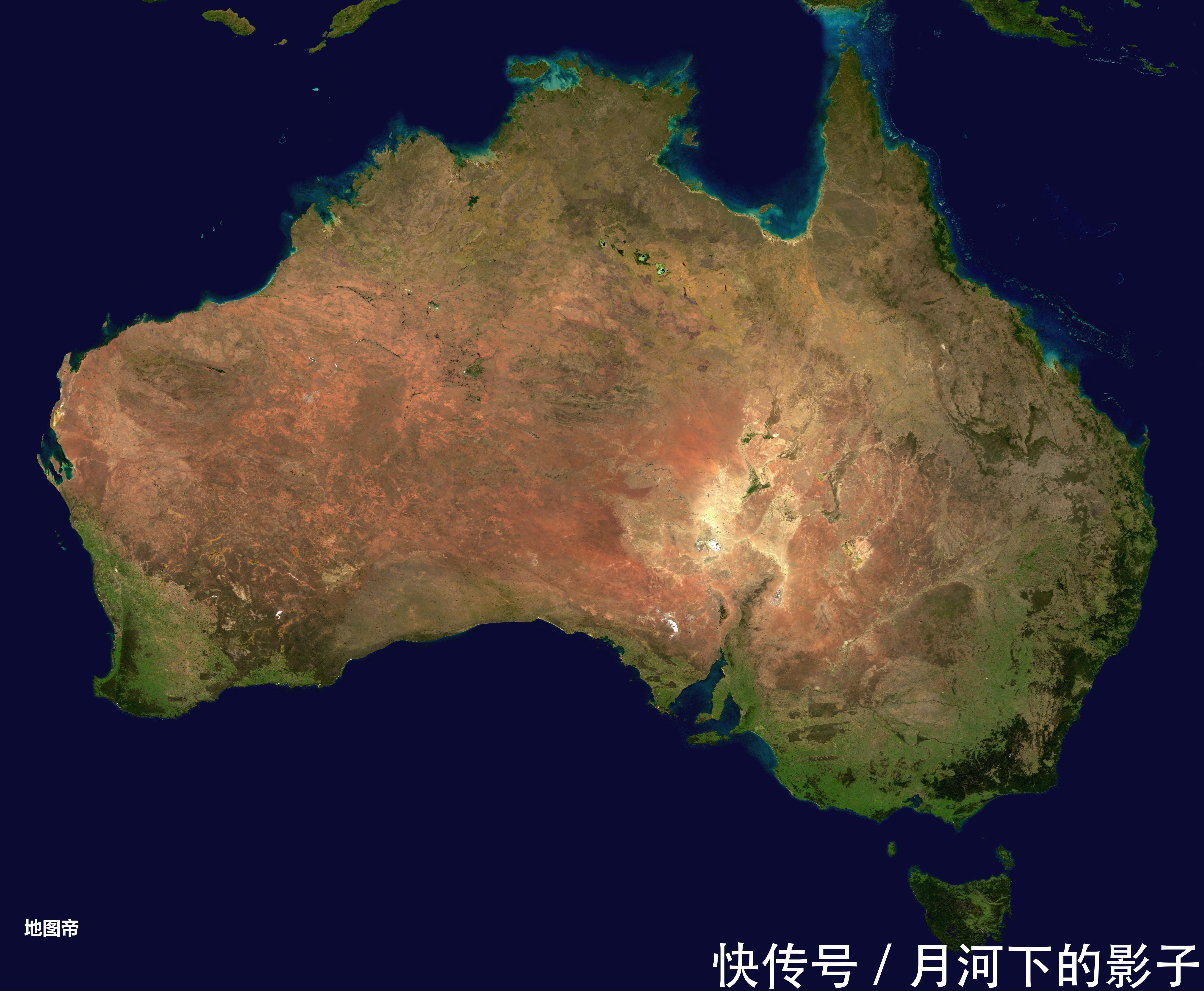 澳大利亚面积达中国八成大小,你们猜人口为何